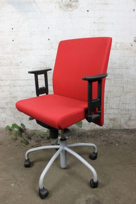 Bureau Stoel Rood.Lensvelt Bureaustoel Tweedehands Rood Bs41