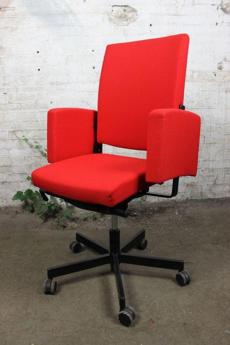 Bureau Stoel Rood.Sitag One Bureaustoel Rood Verstelbaar Bs34