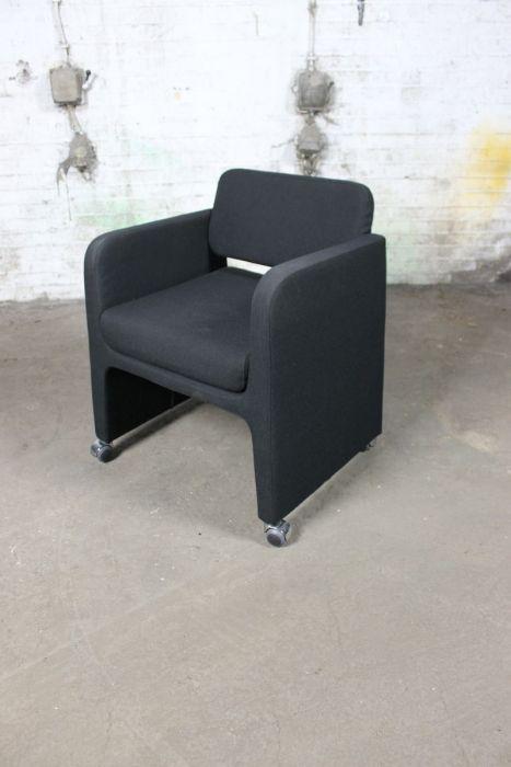Design Fauteuil Tweedehands.Segis Sigma Fauteuil Tweedehands Italiaanse Design Zwart Vs61
