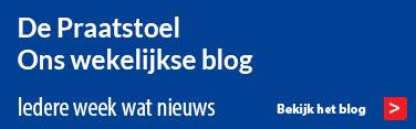 De Praatstoel - ons wekelijkse blog